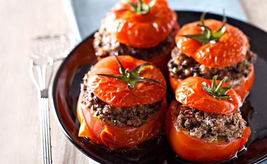 délicieuses tomates farcies