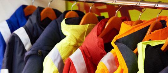 vente de vêtements de travail