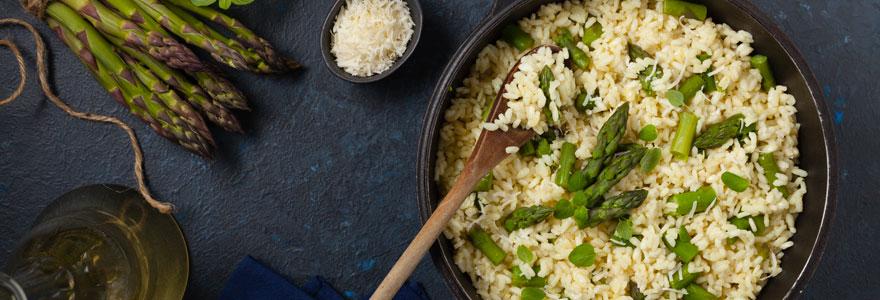 Recette de risotto d'asperge