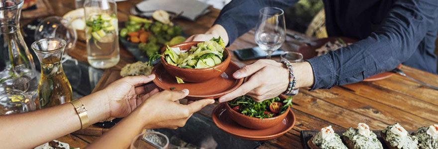 Restaurant végétarien