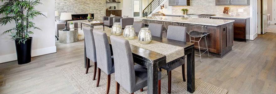 Ambiance conviviale dans votre salle à manger