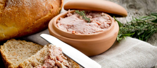 le pâté de foie gras